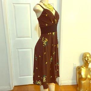 Trashy Diva  Silk Vintage Style Dress